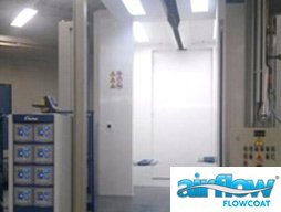 Fast Colour Change Powder Spray Booth
