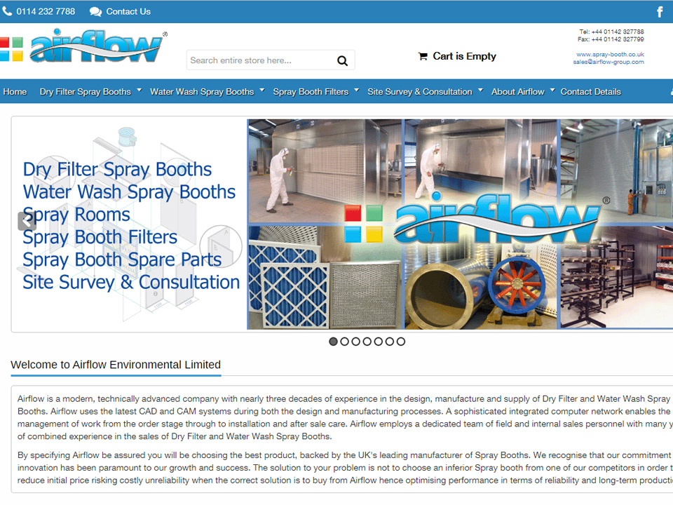 Spray Booths For Sale - Product Information & Online E-commerce