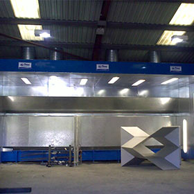 Water Wash Spray Booths - Quality